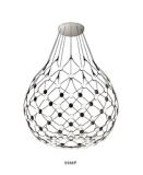 Sala de jantar em acrílico decorativas pendente de LED de iluminação (9388P)