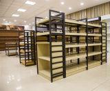 Changshu-Fabrik-Supermarkt-hölzernes und Stahlluxuxgondel-Fach