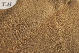 Tissu 100% de sofa de plaine de Chenille de polyester de Brown (FTH31011)