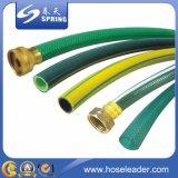 Le PVC vert a renforcé le jardin/eau/tuyau renforcé