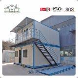 Contenedor de modificar la construcción de casas prefabricadas para el campamento