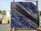 De natuurlijke Blauwe Marmeren Plak van de Luxe voor de Tegel van de Muur en de Tegel van de Bevloering