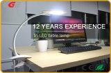 lâmpada de parede flexível leve do Gooseneck do diodo emissor de luz 2W, luz da leitura do Headboard da base do diodo emissor de luz para o hotel/escola/crianças