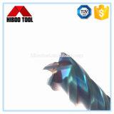 Инструменты горячего карбида надувательства HRC65 филируя с голубым Nano покрытием