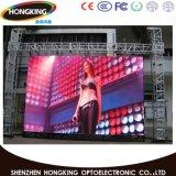 P4.81 en el exterior de la pantalla LED de color bordo