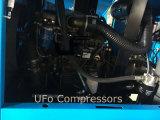 Compresseur d'air diesel de piston mobile bon marché de 5bar /Movable /Towable avec le réservoir d'air