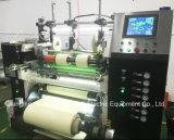 Batería de litio de alta eficiencia de corte cinematográfico del separador de máquina de corte con el precio más bajo