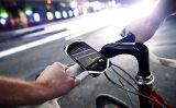 Bande élastique de courroie de support de bicyclette de silicones antichoc pour le téléphone GPS