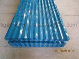 Azulejo de acero revestido revestido del material para techos del color/de azotea del color