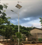 태양 가로등에 있는 좋은 태양 잡종 태양풍 20W-200W