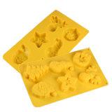 Certificat de moule à cake en silicone de la FDA, thème de Noël moule à cake en silicone/moule/crème glacée Pouding au moule en silicone
