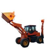 4 Wd retroescavadora rebocável Loader para a construção do carregador do trator