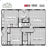 Schnelle Installations-modulares Gebäude/bewegliches/Fertig/fabrizierten Stahlhaus vor