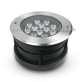 Luz subterráneo de la iluminación 3W DC24V IP65 LED del paisaje
