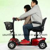 LEDライトが付いている4wheelによって禁止状態にされる電気移動性のスクーター
