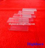 Square de silice de haute pureté Tube de verre de quartz