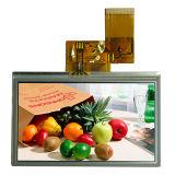 4.3 '' visualización de 480*272 TFT LCD con Rtp usado en Phone/PSP/PDA/GPS móvil