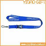 Titulaire de la carte d'ID de travail en polyester cordon (YB-ly-06)