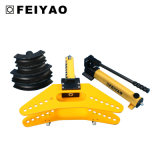 Máquina de dobra manual de tubos hidráulica para barra de aço Fy-Swg-60