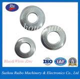 Plaqué zinc de l'enf dent dentelée25-511 moletage la rondelle de blocage conique avec l'ISO