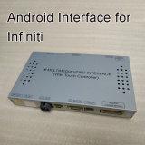 Navigation androïde de multimédia de surface adjacente de HD GPS pour Infiniti 2015-2017 Q50/Q60