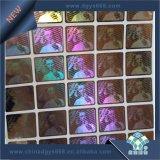 Custom Design Original 3D etiqueta autocolante com holograma de Corte