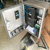 Medidas sanitárias alta da bomba de Mistura em linha de Cisalhamento para cosmética com carrinho