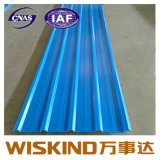 Folha de aço-1025 Yx25-205/telhado de aço corrugado folhas/ Folha de aço corrugado