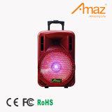 Carrinho Venda quente do alto-falante ativo de luz LED coloridos com Bluetooth do alto-falante do portão traseiro