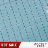 Mosaico di ceramica blu-chiaro di stile fresco per il pavimento