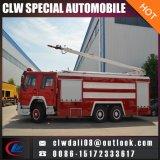 판매를 위한 중국에서 HOWO 6*4 물 거품 소화기 트럭