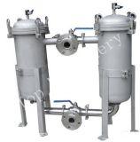 Filter van de Zak van het roestvrij staal de Dubbele voor de Behandeling van het Water