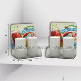 Preiswerte Preis-Ausstellungsstand-Acrylgegenbildschirmanzeige-Zahnstange