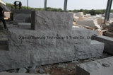 Bloques grises naturales de la piedra de la pared del granito para la pared al aire libre