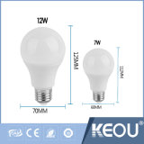 lumière d'ampoule de base de 9W E27/B22 3With 5With7With9With12With15W DEL