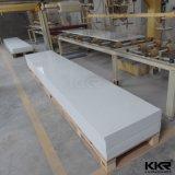 氷河白いCorian 100%の純粋なアクリルの固体表面12mm
