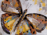 Handmade Heavy Oil Butterfly Oil Painting one Canvas for Wall Decoration