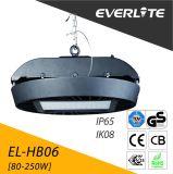 Garantía de 5 años con protección IP65 Resistente al agua de alta de la luz de la Bahía de LED Industrial