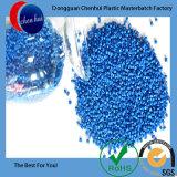 Pelotas plásticas azuis de HDPE/LDPE Masterbatch em 2017