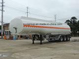 3 Essieu alliage en aluminium semi-remorque de réservoir de carburant