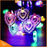 クリスマス・パーティの装飾のためのハート形の太陽50LED妖精ストリングライト