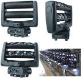 Fascio capo mobile 8X12W di illuminazione della fase di Gbr LED ogni indicatore luminoso del ragno di RGBW 4in1 LED