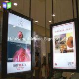 二重側面のスナップ表示を広告するアルミニウムバックライトを当てられたLEDの額縁のライトボックス