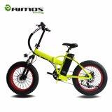 Bicyclette électrique se pliante intelligente de gros pneu de montagne d'AMS-Tdn-02 250W