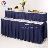 Tisch-Fußleisten-preiswerte rechteckige Tisch-Fußleiste für Bankett-Hochzeit Hly-Tk01
