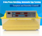 Menor preço qualidade Alta 48 Mini-incubadora de ovos de galinha dos ovos.