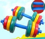 調節可能で多彩なゴムのダンベルは体操のホームのためにセットした