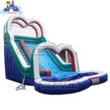 El precio de fábrica del PVC Tarpulin de Guangzhou Lilytoys embroma la diapositiva de agua inflable del castillo de la gorila