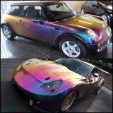 Polvo del pigmento de Chromaflair del tirón del color del camaleón del cromo para la pintura del coche