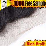 Frontal brésilien de lacet du cheveu 13*5 de 100% pour des femmes de couleur